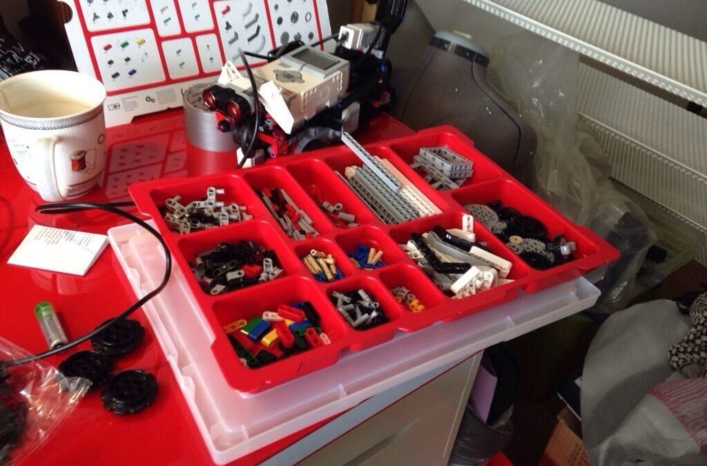 LEGO Mindstorms EV3 Edu pakken – set med kritiske (og trætte) øjne